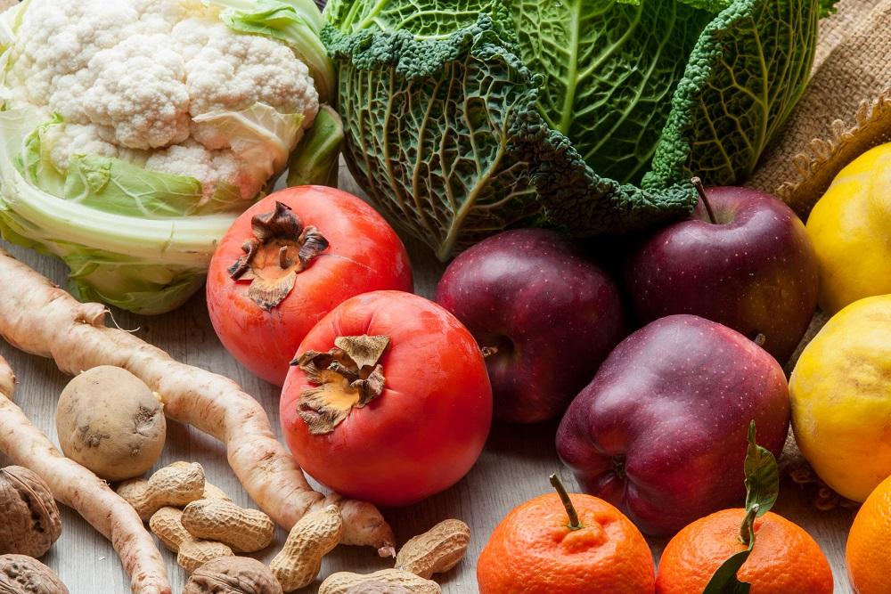frutas y verduras de temporada alimentación productos agrícolas hábitos saludables salud aepla
