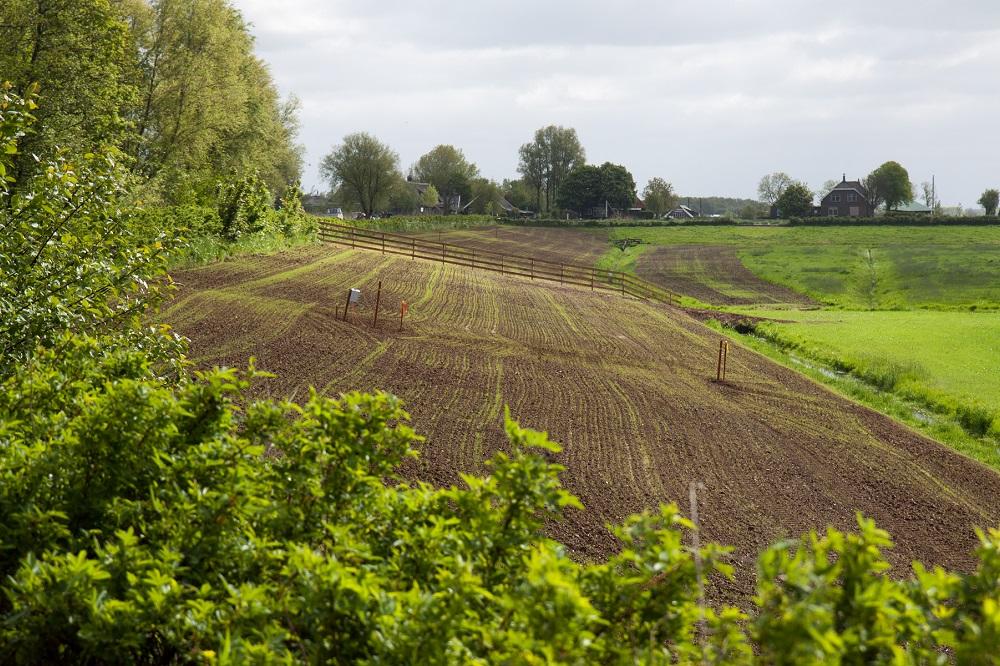 Buenas prácticas agrícolas: Estructuras de retención para reducir la escorrentía